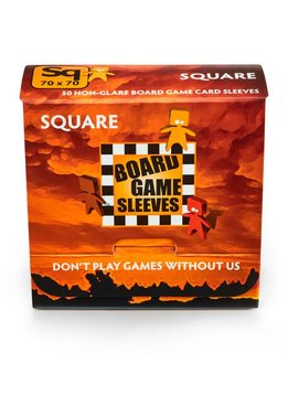 Board Game Sleeves - Square 69x69mm