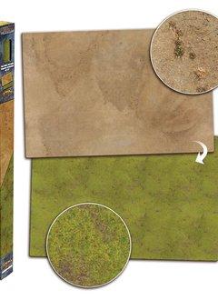 Battlefield in a Box - Grassland/Desert Gaming Mat