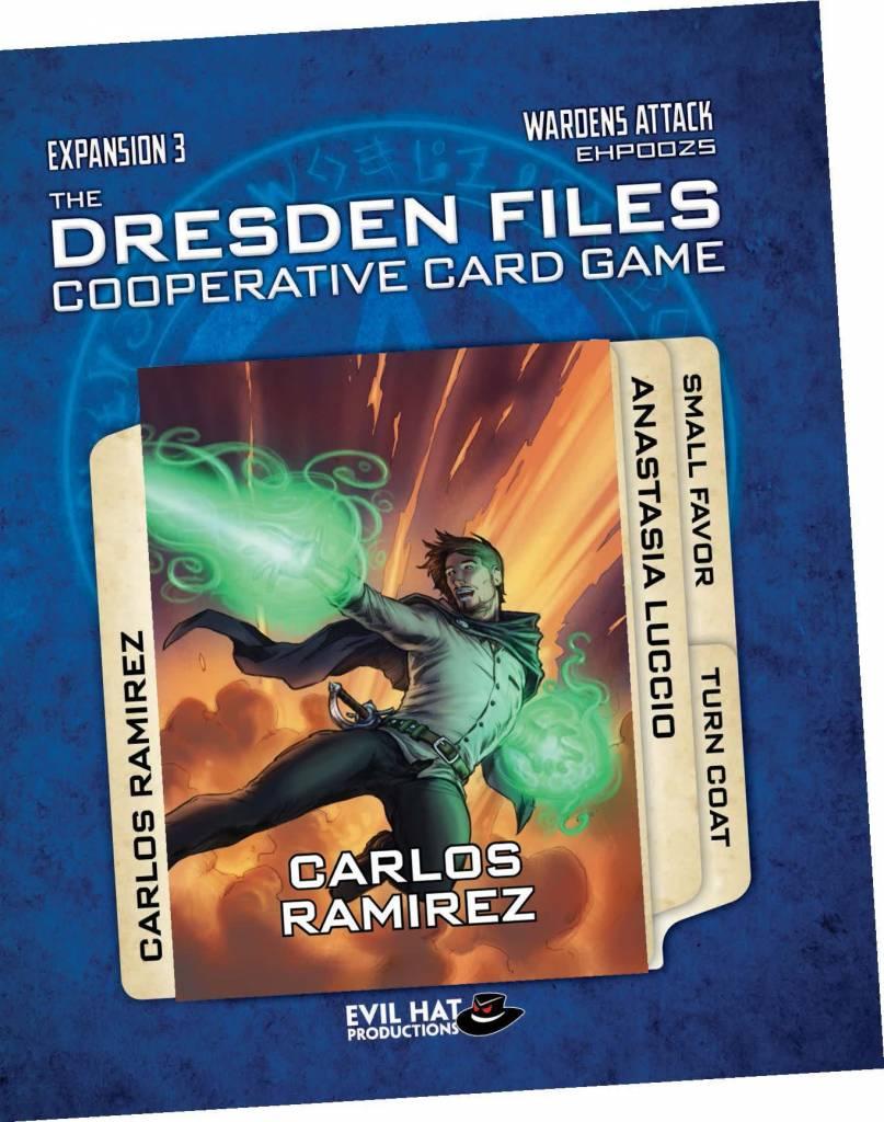 Dresden Files Cooperative CG Exp - Wardens Attack