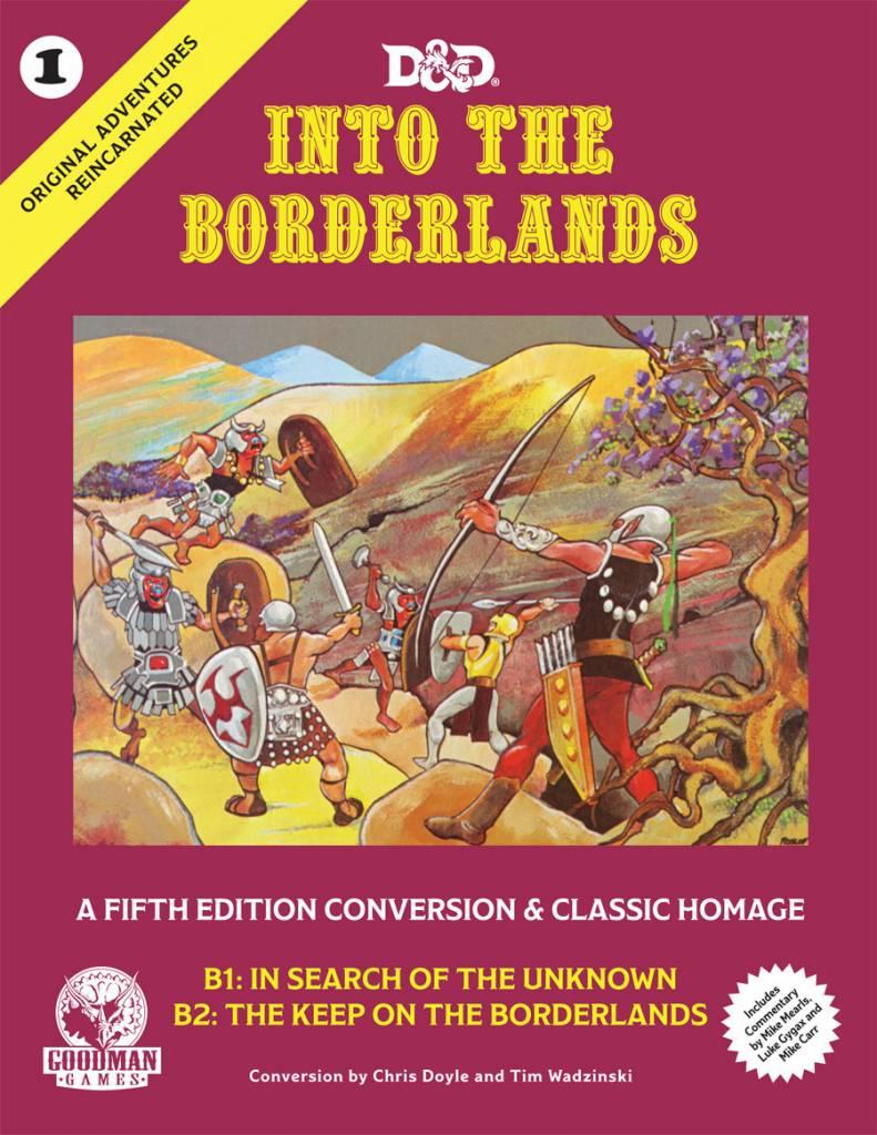 Original Adventures Reincarnated - Into the Borderlands