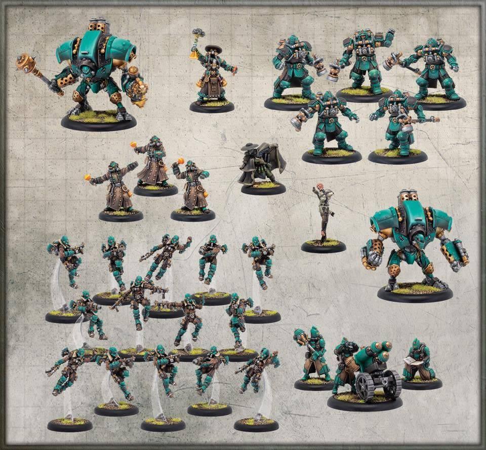 Golden Crucible Army Box