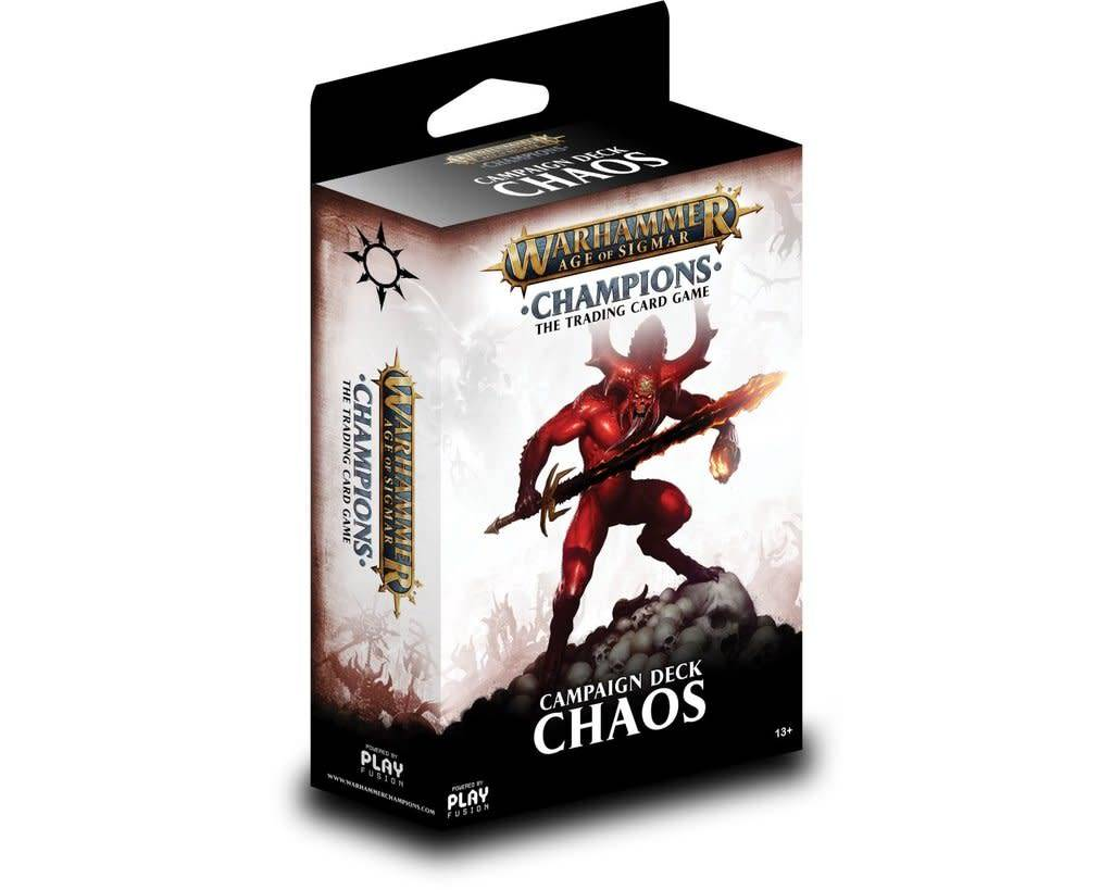 Age of Sigmar Champions - Chaos Campaign Deck