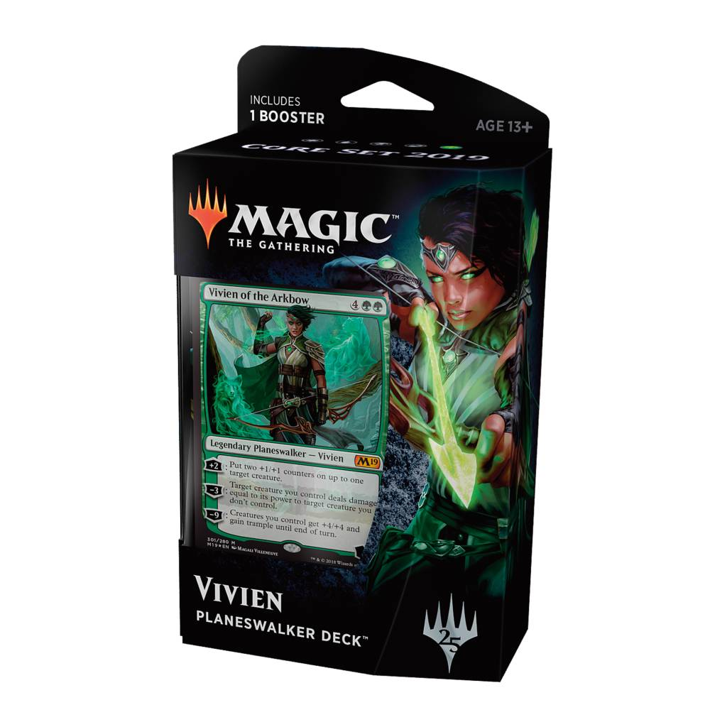 Core Set 2019 - Vivien Planeswalker Deck