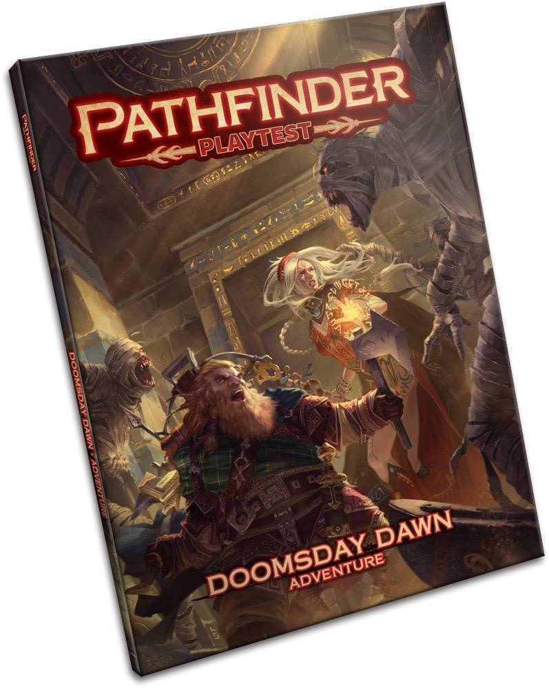Pathfinder 2E Playtest Adventure - Doomsday Dawn