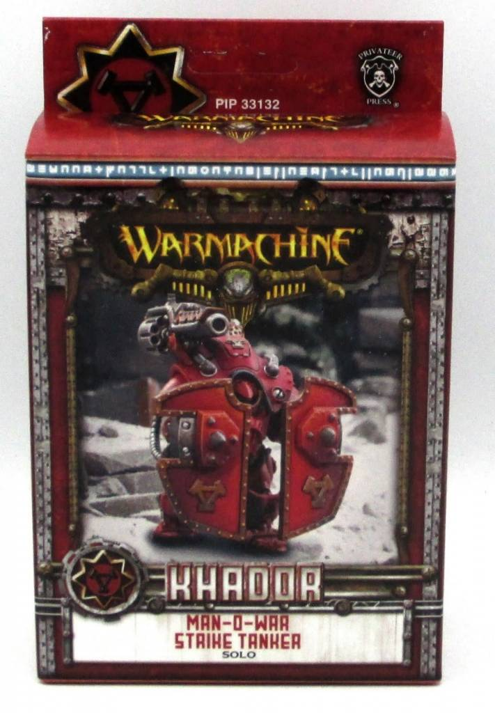 KHADOR MAN-O-WAR STRIKE TANKER SOLO BOX