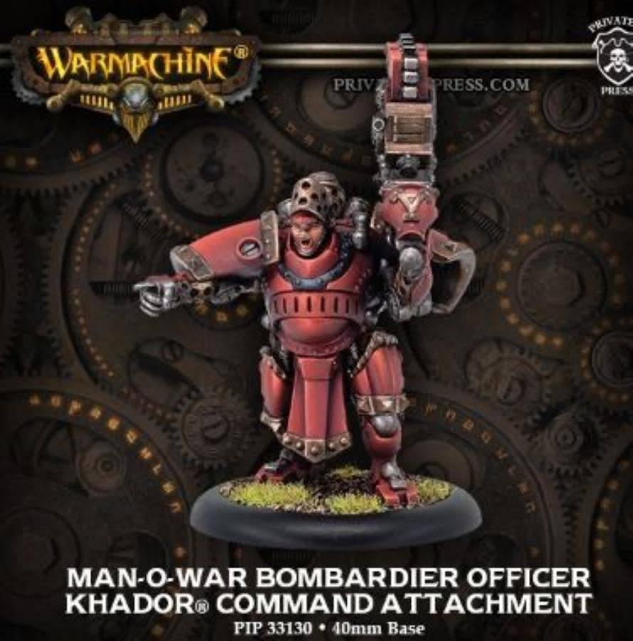KHADOR MAN-O-WAR BOBMARDIER OFFICER CMD ATTACH BLI