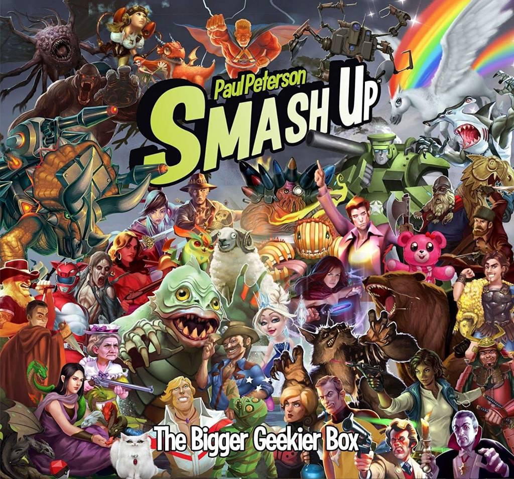 Smash up The bigger, geekier box