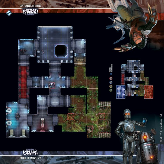 Tarkin Initiative Labs Map