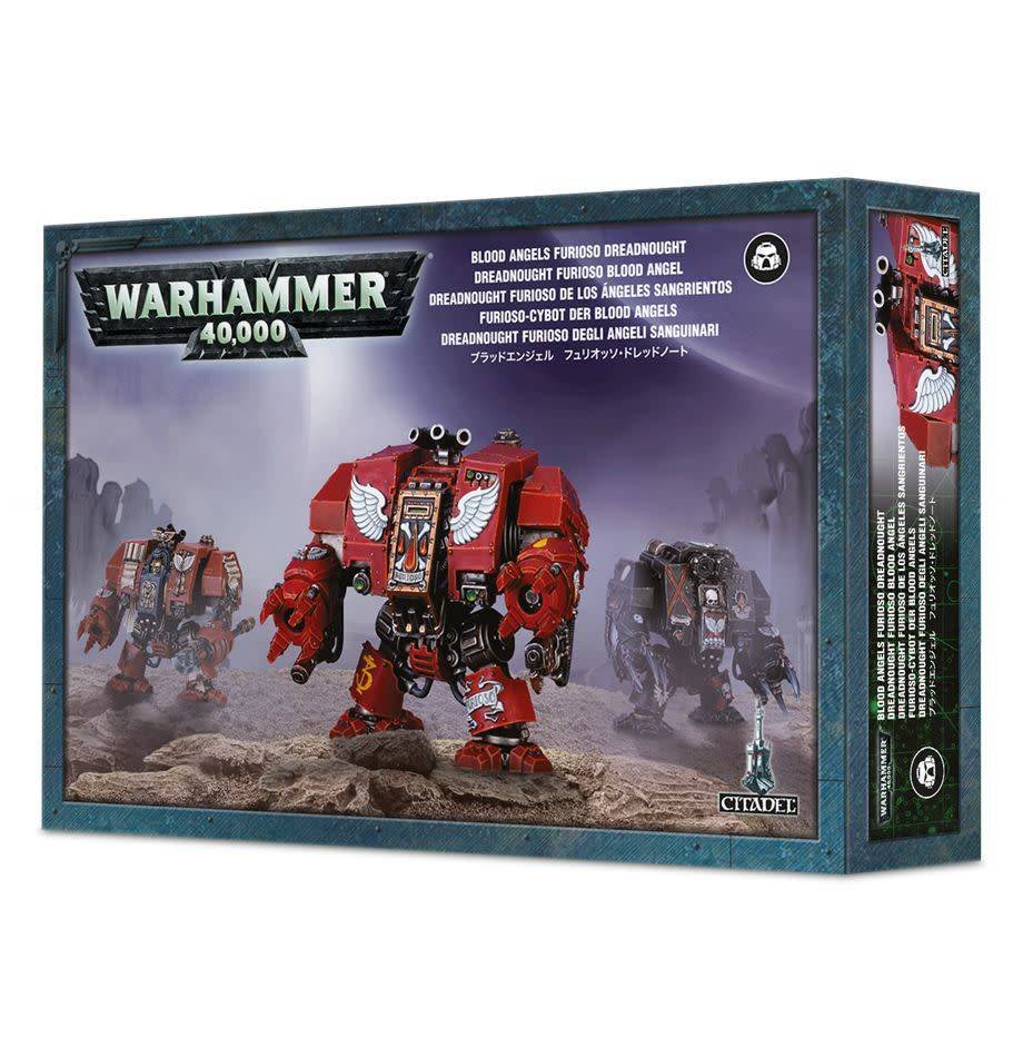 Blood Angels Furioso Deadnought