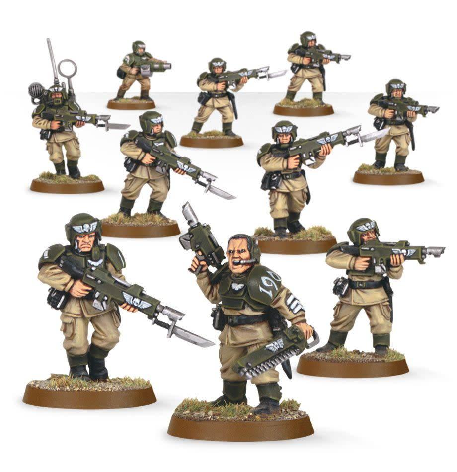Cadian Shock Troops 2009