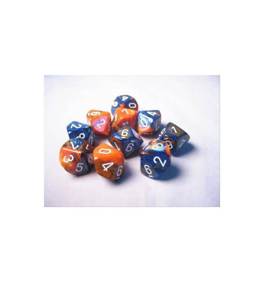 26252 10D10 Blue-Orange w/white