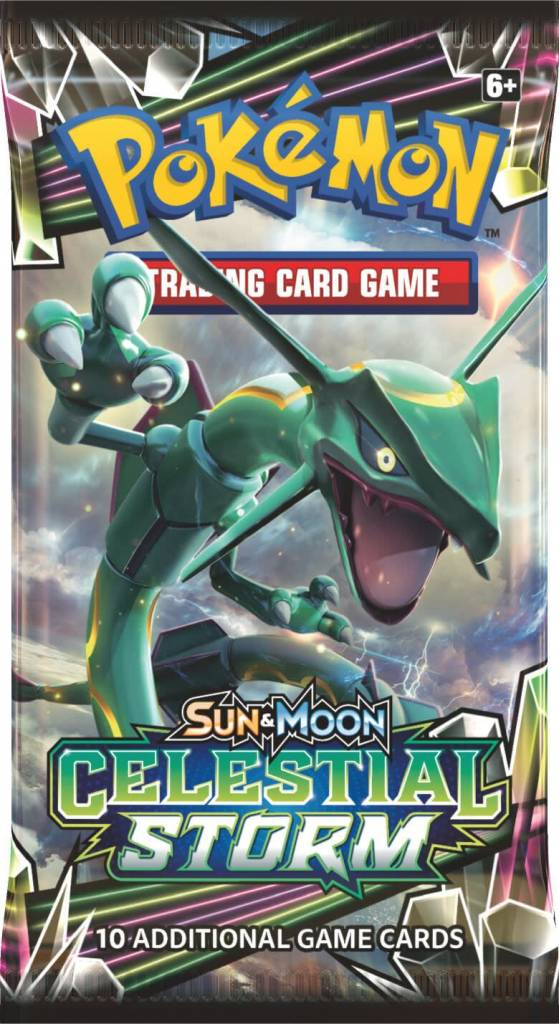 Pokemon Celestial Storm Booster Pack