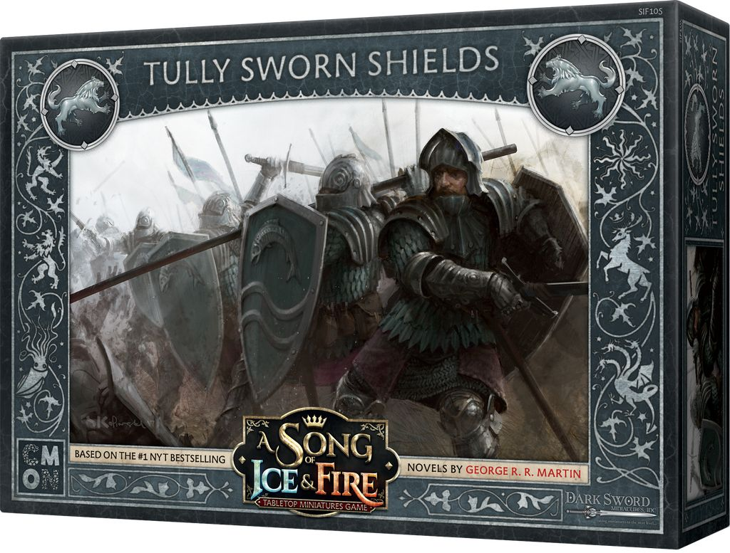 Sword of Ice and Fire - Tully Sworn Shields