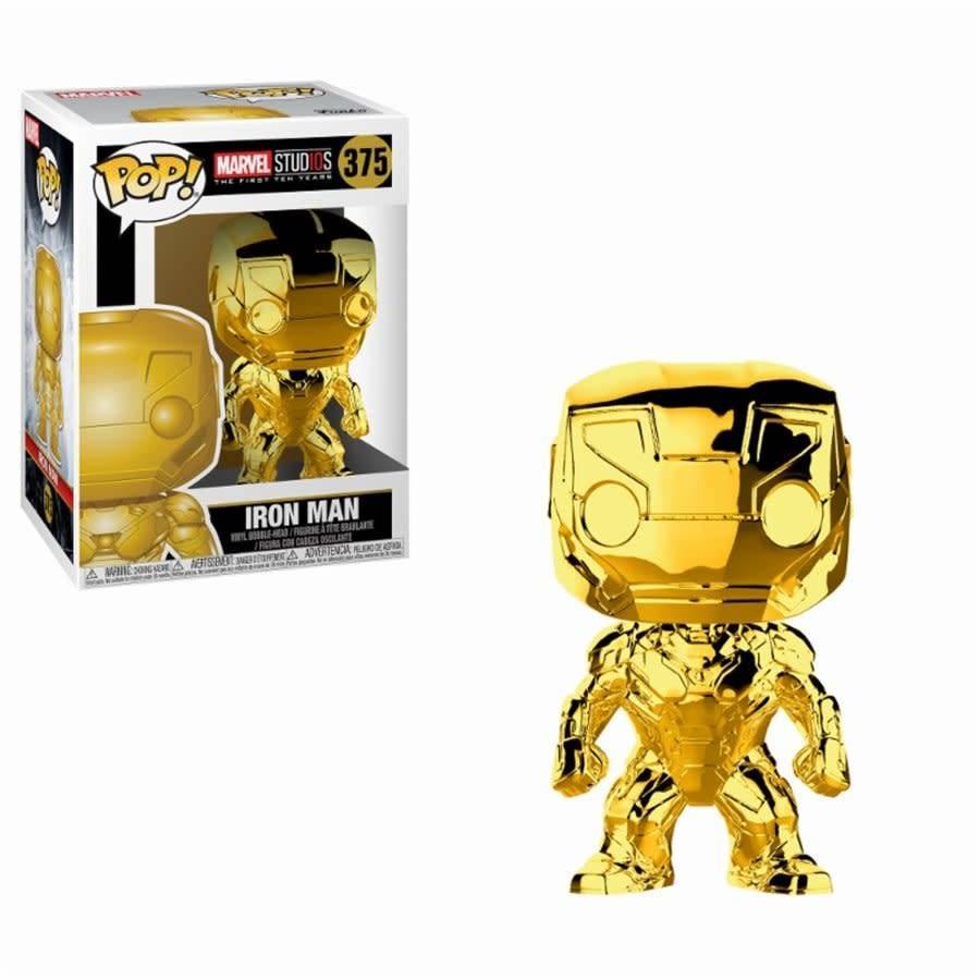 Pop! Iron Man Chrome