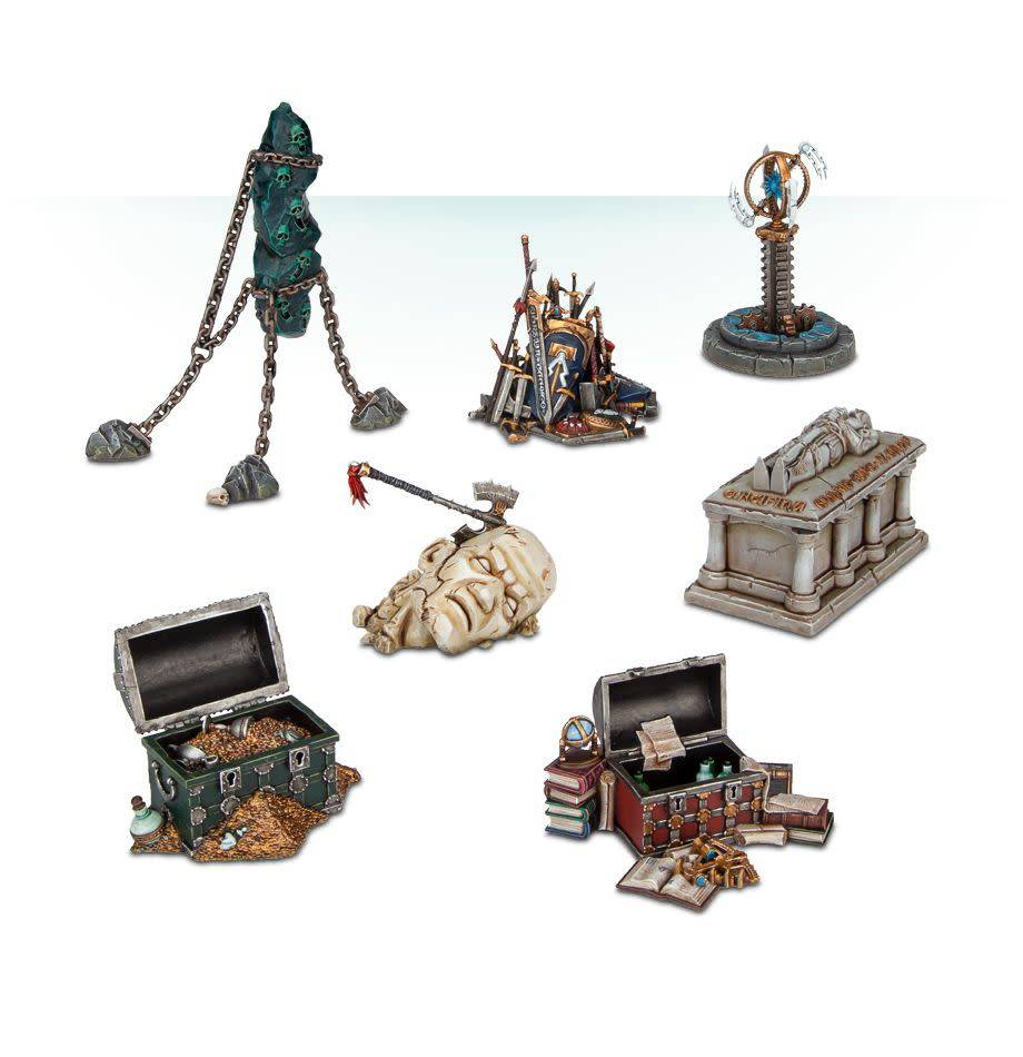 Shattered Dominion - Objectives