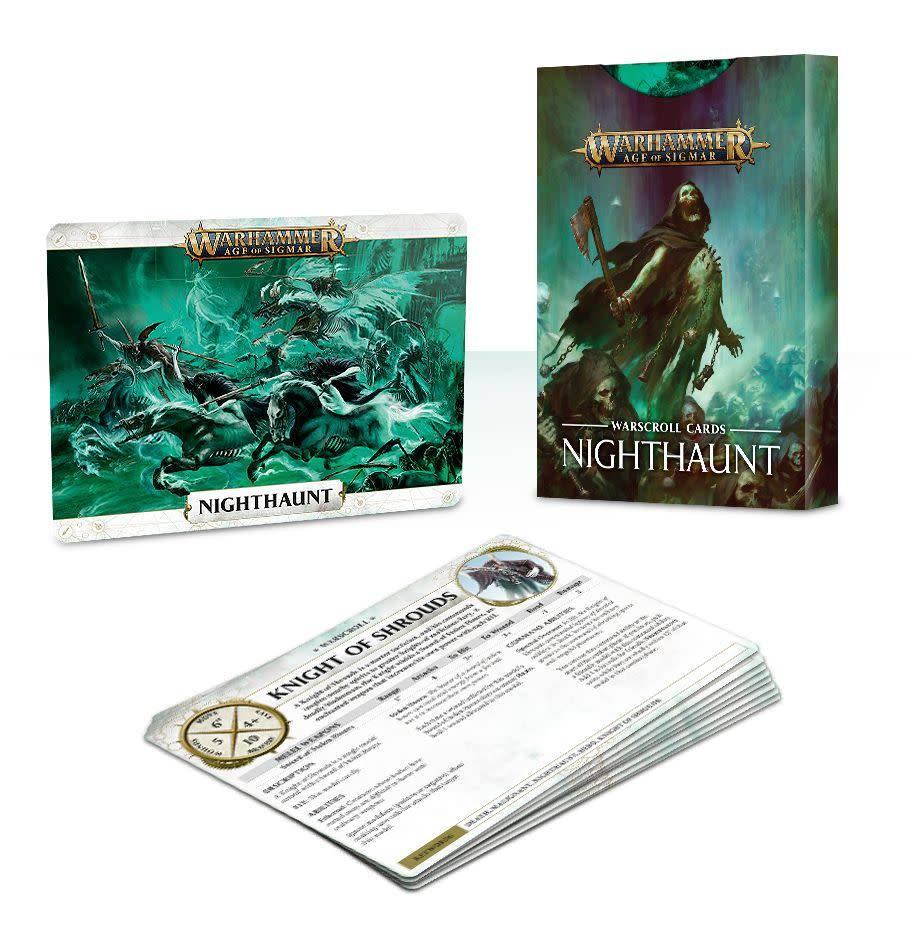 Warscroll Cards Nighthaunt
