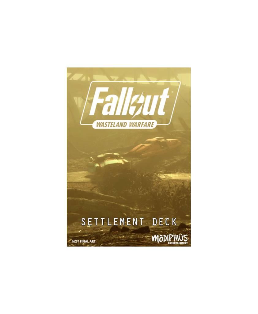 Fallout Wasteland Warfare - Settlement Deck
