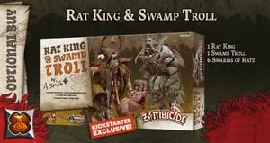 Black Plague: Green Horde KS Edition: Rat King & Swamp Troll