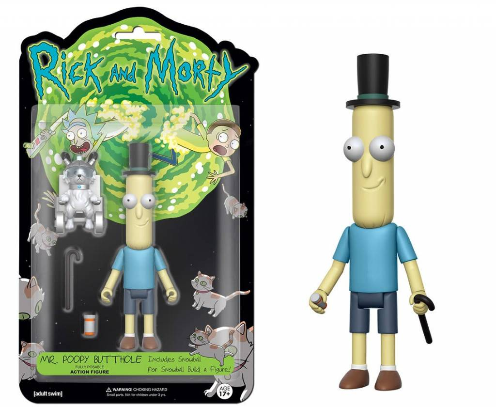 Mr. Poopy Butthole Action Figure