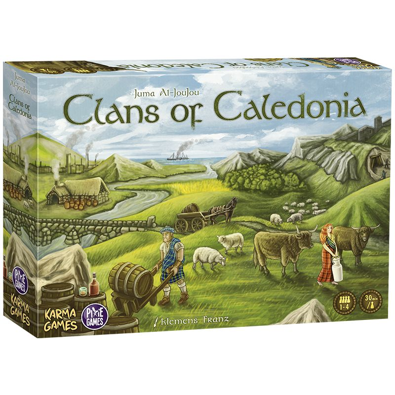 Clans of Caledonia Fr