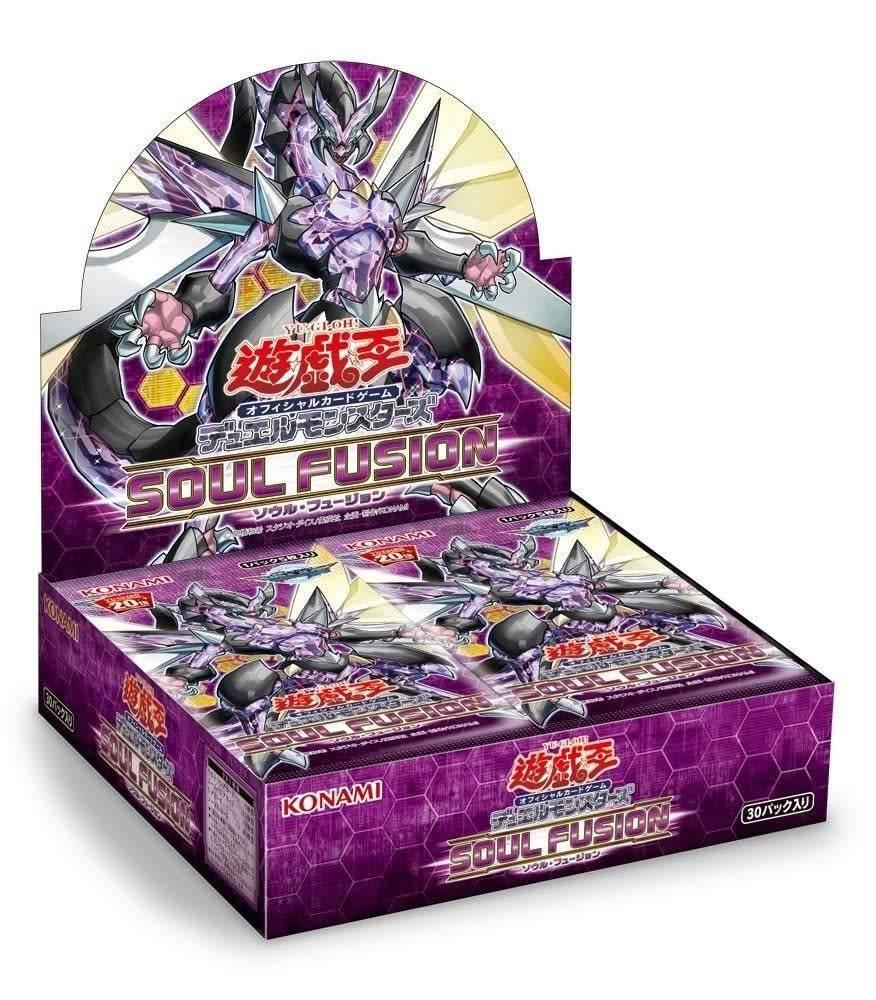 YGO Soul Fusion Booster Box