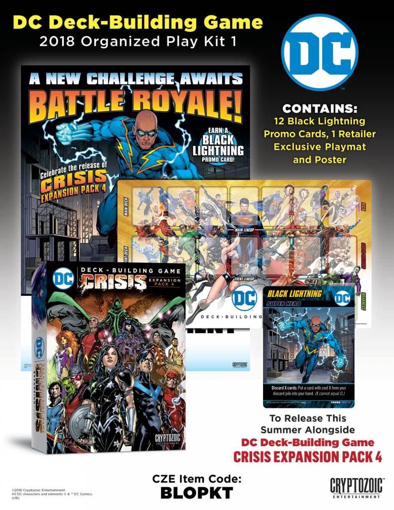 DC Deck Building Game Black Lightning OP Kit