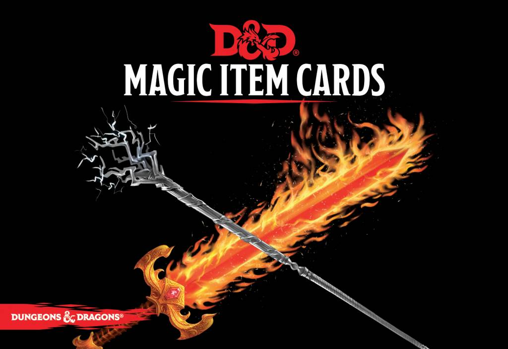 D&D Magic Item Cards