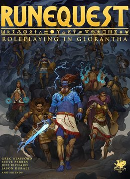 Runequest - Roleplaying in Glorantha