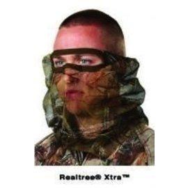 Hunter's Specialties HA - Camo Mask Flex Form 2 net 3/4 Face Mask