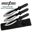 Perfect Point Knife PP1143SB Perfect Point Throwers set of 3