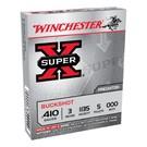 """Winchester AMMO 410 Winchester Super X 1135 000 3"""" 5Pellets (Box 25)"""