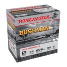 "Winchester AMMO 12G Lead Bushman 4# 2-3/4"" 34Gr 1275 (Box 25)"