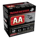 "Winchester AMMO 12G Lead AA Super Sporting 7.5 2-3/4"" 32Gm (1-1/8Oz) (Box 25)"