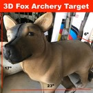 SR Archery *TB-3D-SR Mini Fox