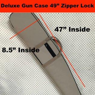"""Aries - Aussie Sports Goods Case Gun Aries Delux Rifle Single Zipper Lock 49"""""""
