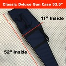 Aries - Aussie Sports Goods Case Gun Aries Classic Deluxe with pouch Rifle Single 53.5""