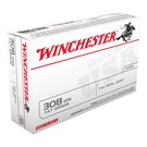 Winchester AMMO 308win - Winchester USA Value Pack 147Gr FMJ  (Box 20)