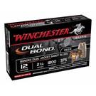 """Winchester AMMO 12G Lead Slug Winchester Dual Bond Sabot Slug  2-3/4"""" 375Gr (Box 5)"""