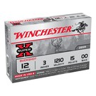 "Winchester AMMO 12G Lead Super X OO 3"" 15 Pellet 1210 (Box 5)"