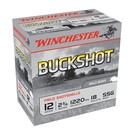 "Winchester AMMO 12g Lead Winchester Buckshot SSG 2-3/4"" 18Pellet (Box 250)"