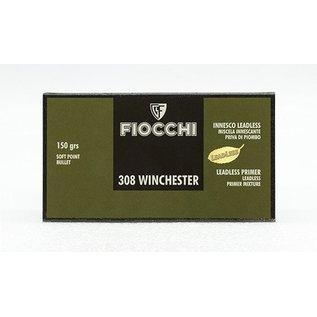 Fiocchi AMMO 308 Win Fiocchi 150Gr SP (20 Box)