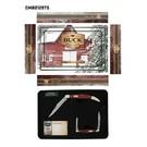 Buck Knives KNI Buck PAKAWOOD Tin Combo CMBO129TS-C