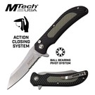 MTech KNI-M1041GY MTech - Serrated Folder Grey