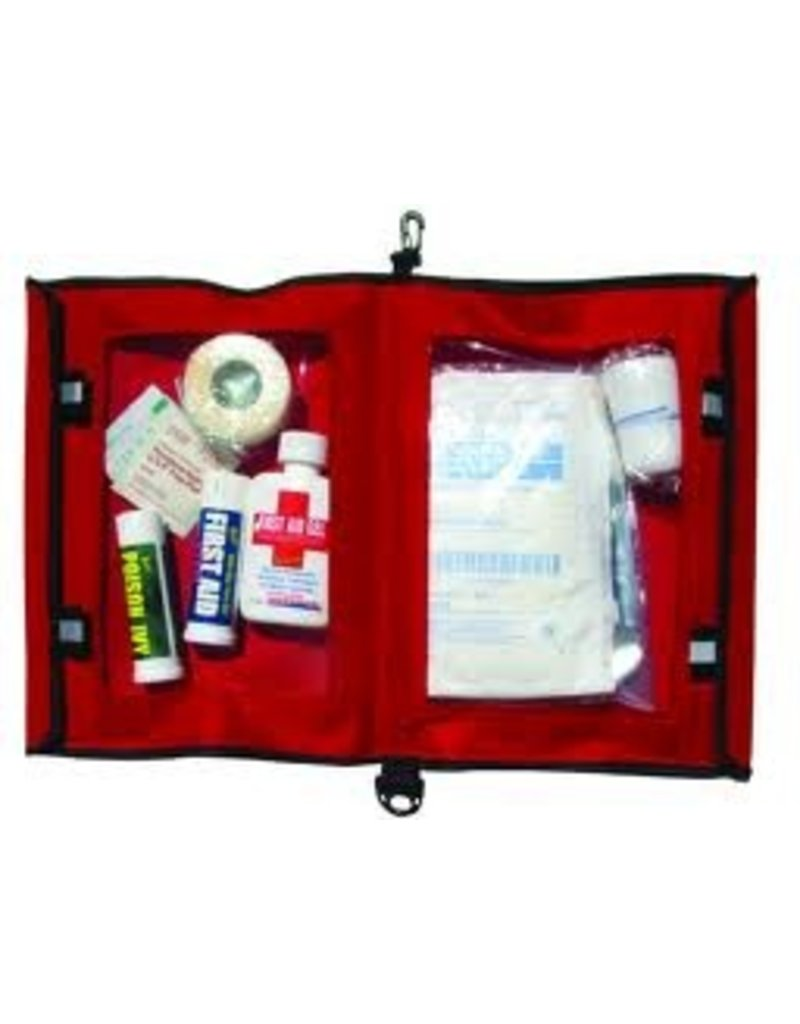 CHINOOK AQUATIGHT FIRST AID POUCH RED