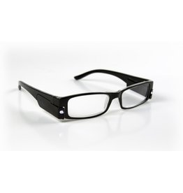 NAUTICALIA ILLUMINATED EYEGLASSES 2X BLACK