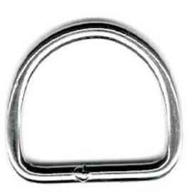 "SEADOG STAINLESS WELDED D RING 1/4"" X 2"""