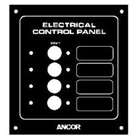 ANCOR CIRCUIT BREAKER LABEL 4 GANG TOGGLE