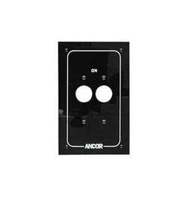 ANCOR CIRCUIT BREAKER LABEL 2 GANG TOGGLE