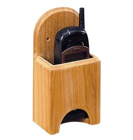 WHITECAP VHF HOLDER TEAK