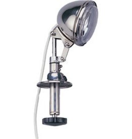 """AAA ECONOMY SPOTLIGHT 4 1/2"""" 12V  STAINLESS 55,000 CP *CLEARANCE*"""